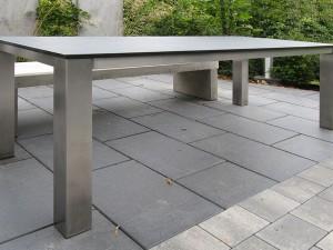 Tisch KGT 41 mit 2 cm Granitplatte - de greiff design