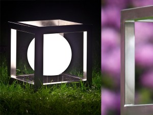 Lichtobjekt »Leuchtkubus« 28 cm KGK 56 - de greiff design