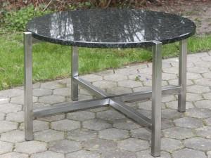 Tischuntergestell KG 30 - hier mit Granitplatte - de greiff design