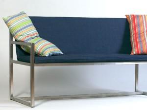 Gartenbank 3-sitzig - de greiff design